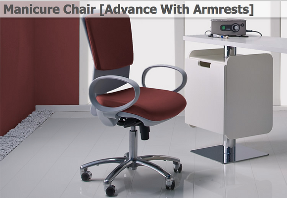Manicure Chair [Advance With Armrests]