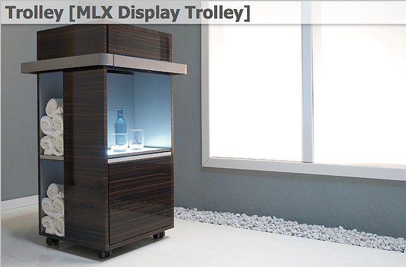Trolley [MLX Display Trolley]