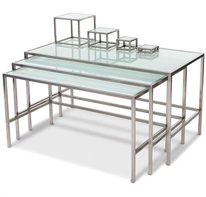 Фуршетные столы Steel & Style