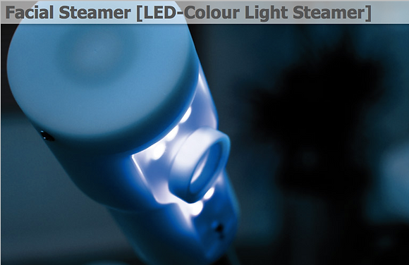 Facial Steamer [LED-Colour Light Steamer]