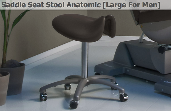 Saddle Seat Stool Anatomic [Large For Men]