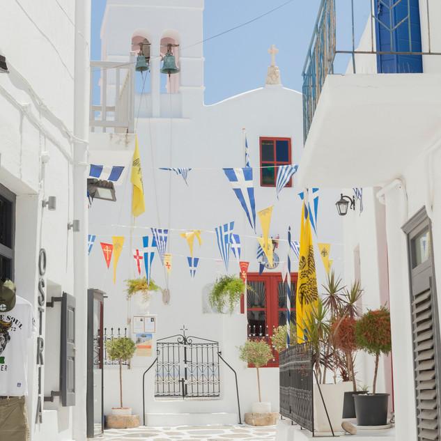 Un week-end Mamma Mia! avec leboncoin à Mykonos