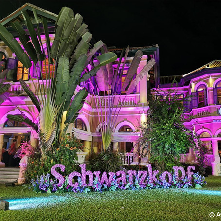 Séminaire annuel des clients Schwarzkopf à Phuket