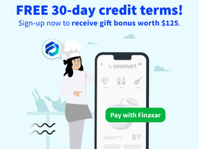 Introducing free 30-day credit terms for Zeemart orders