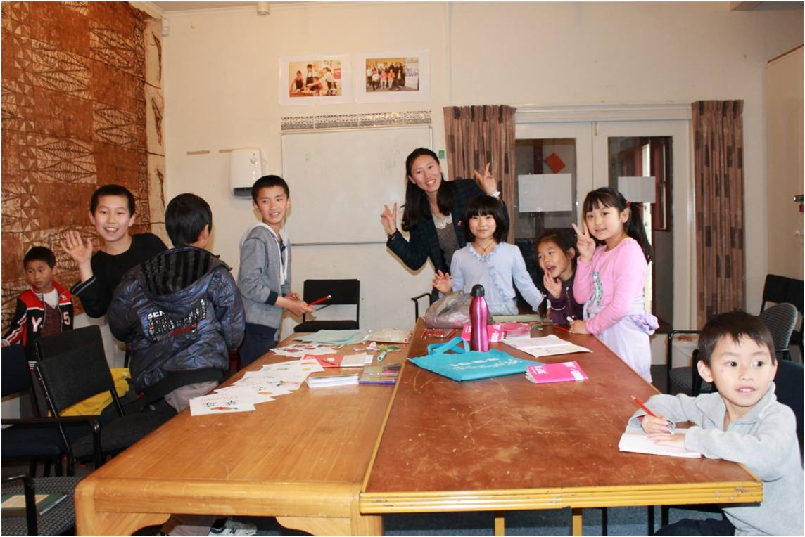 Teaching Chinese in the Community