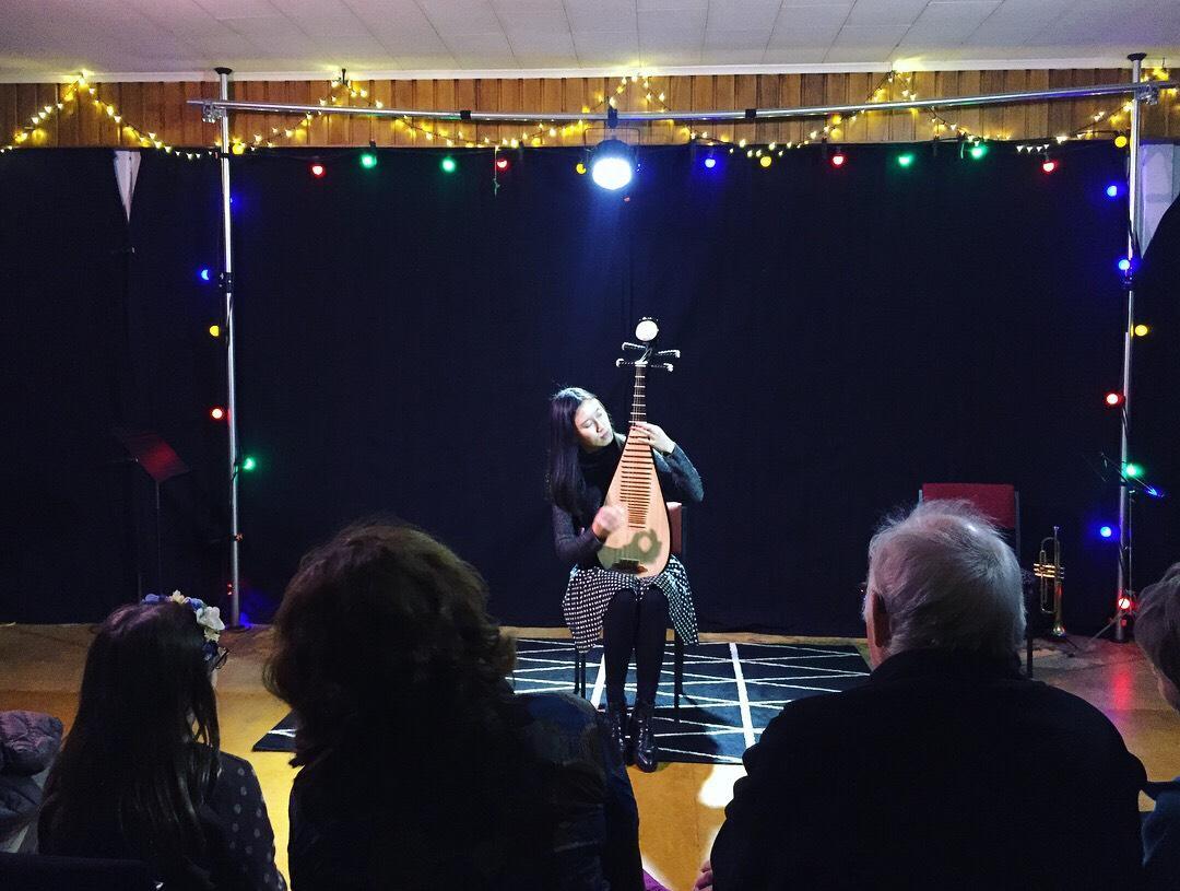 Music at Vogelmorn bowling club