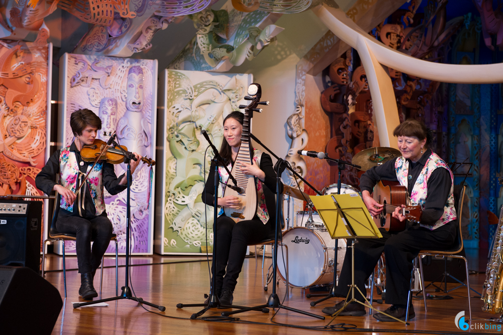 Chintz Performance at Te papa