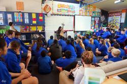 Music workshop in Rotorua in 2014