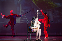 Chinese Music with Martial Art
