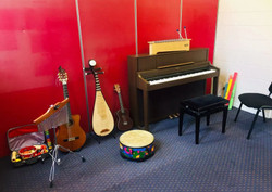 Music therapy room at our Northland Regional Centre