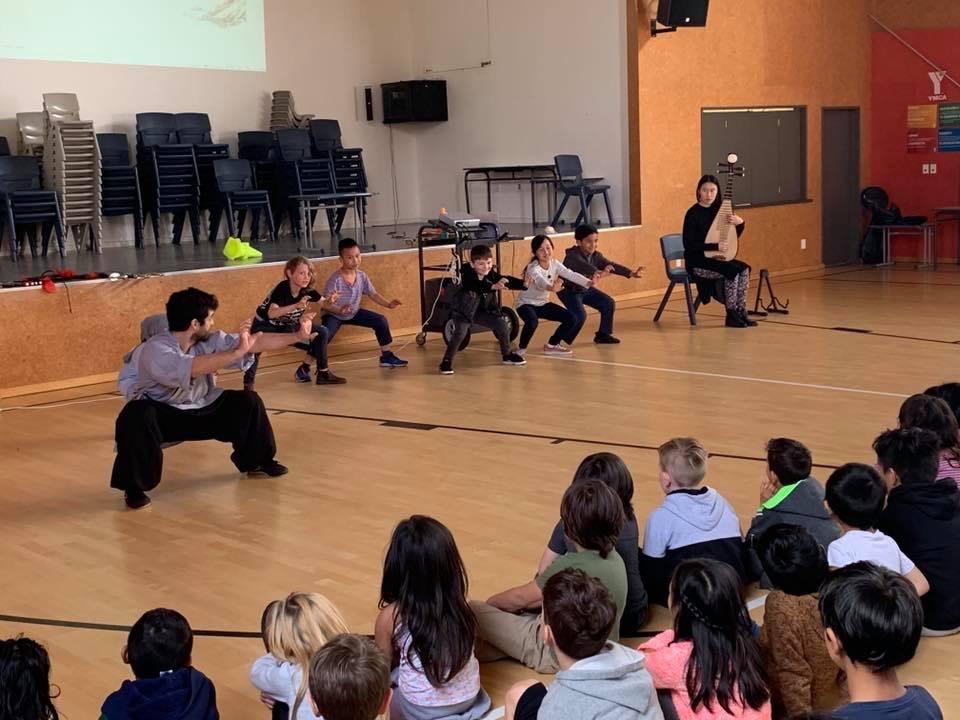 Music Workshop at Mt Cook school