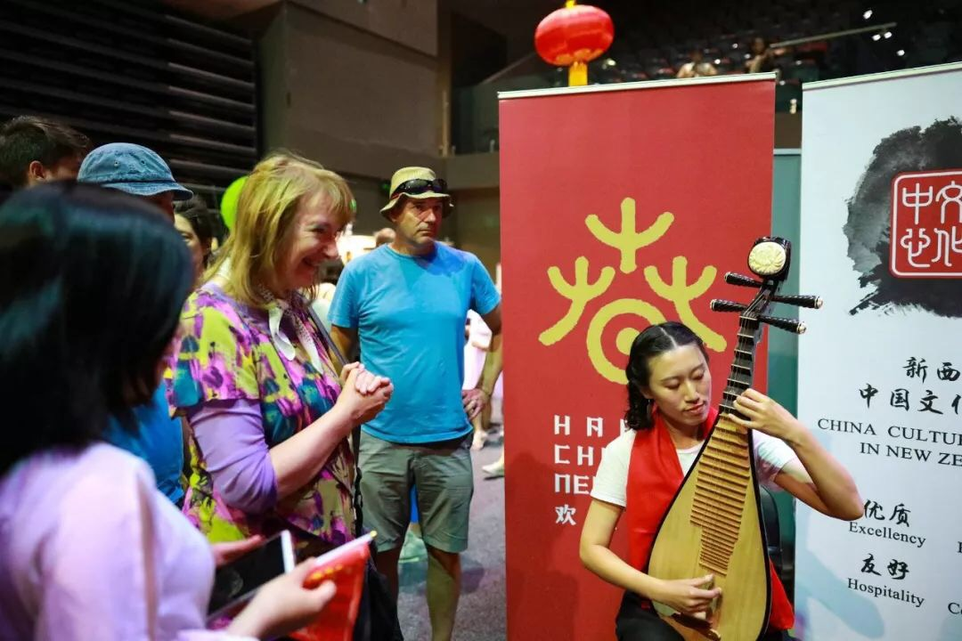 Pipa & Guzheng workshop at TSB Arena