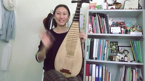 I played Pokarekare Ana on Pipa (Chinese Lute). May all beings be loved and happy.