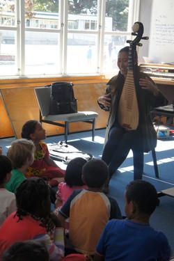 Music Workshop at Te Aro School