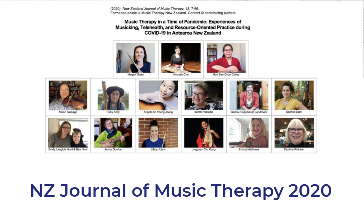 NZ Journal of Music Therapy 2020