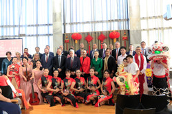 Chinese New Year celebration at parliame