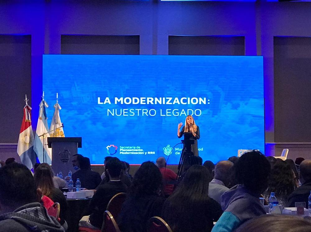 lanzamiento de la App Ciudadana de la Municipalidad de Córdoba, realizada el viernes 19 de marzo.