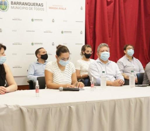 Presentación de la app Barranqueras Digital