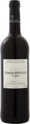 Tomás Postigo 5º año Magnum 2015 150 cl.