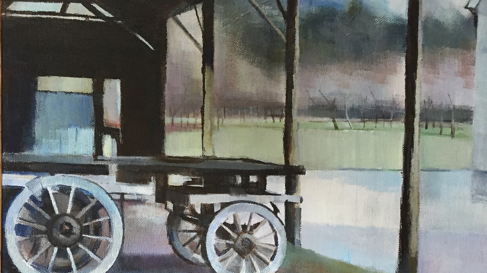 Cart at Clunton