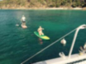 Paddle Boarding Christmas Cove LittleJam