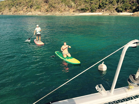 Paddle Boarding Christmas Cove LittleJam