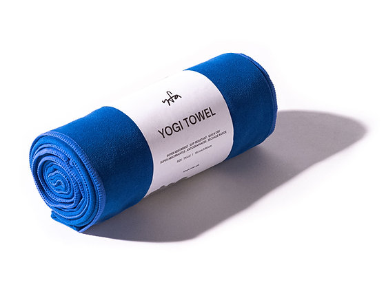 YOGI TOWEL - MORPHO BLUE