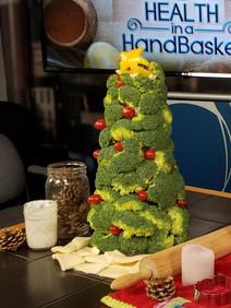 Broccoli Christmas Tree & Dill Dip