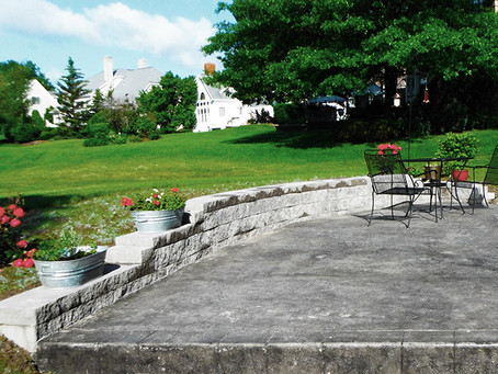 Concrete Patios: Resurface or Replace?