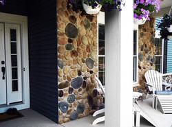 Stone Veneer Porch