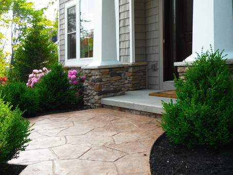 Boost Curb Appeal with Stamped Concrete