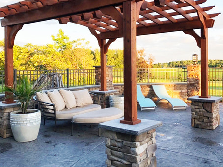 Stamped Concrete Patio Trends