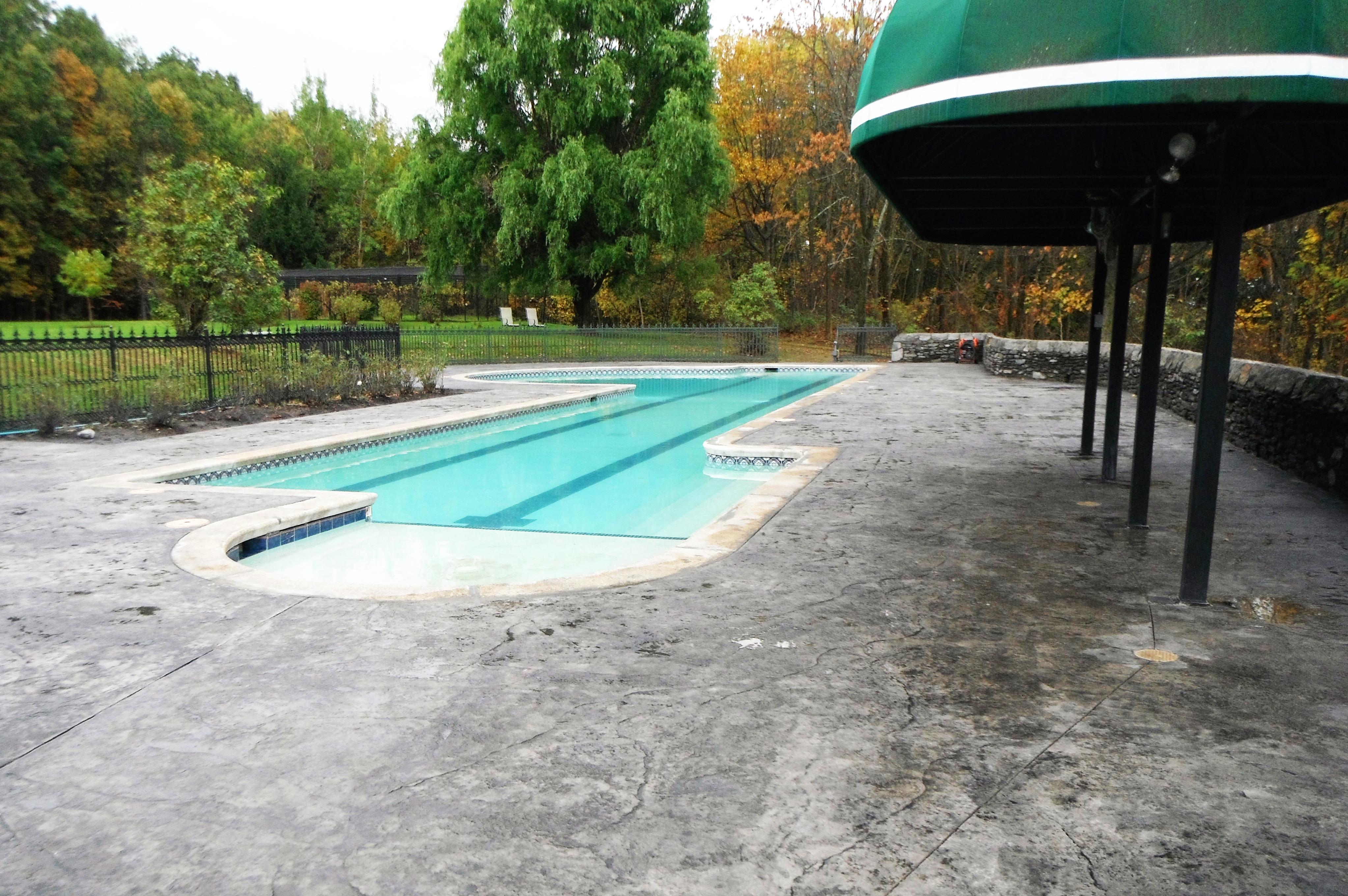 Concrete Pool Deck, Patio