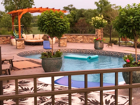 'FALL' in Love with Your Patio & Pool Deck