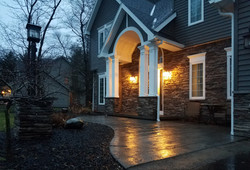 Stone Veneer & Concrete