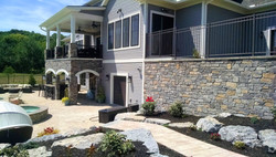 Stone Retaining Wall, Outdoor Living