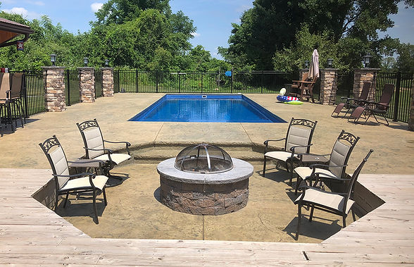 GM - Vacation Article - Firepit & Pool.j