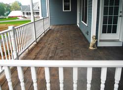 Stamped Concrete Porch