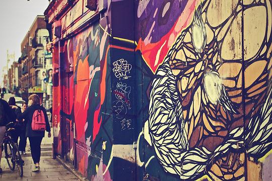 Stadt Graffiti