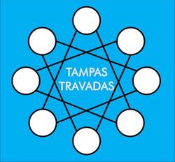 TAMPAS TRAVADAS