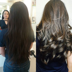 Bring your hair back to life!!! Before a