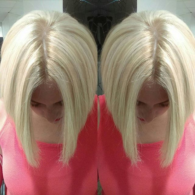 color #blonde #Bob #bobhaircut #haircolo