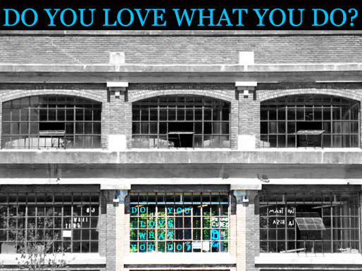DO YOU LOVE WHAT YOU DO? AT ST. JOHN'S UNIVERSITY
