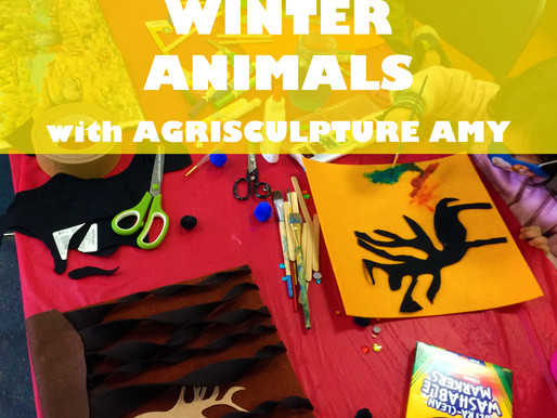 """WINTER ANIMALS WITH AGRISCULPTURE AMY"" WORKSHOP @ NEWBURGH JCC"