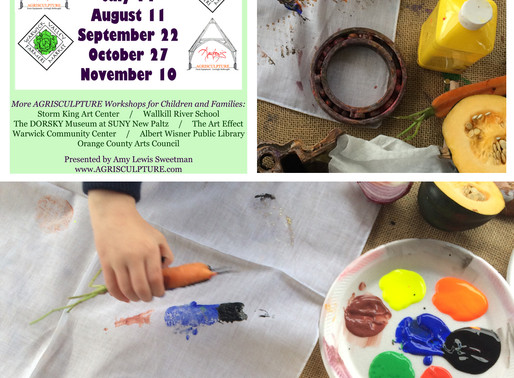 FOOD:CRAFT 2019 - CHILDREN AND FAMILIES WORKSHOP SERIES AT WARWICK VALLEY FARMERS MARKET