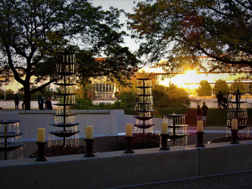 AIR-EARTH-WATER-FIRE ART INSTALLATION AT GERALD R. FORD PRESIDENTIAL MUSEUM DURING ARTPRIZE 2021