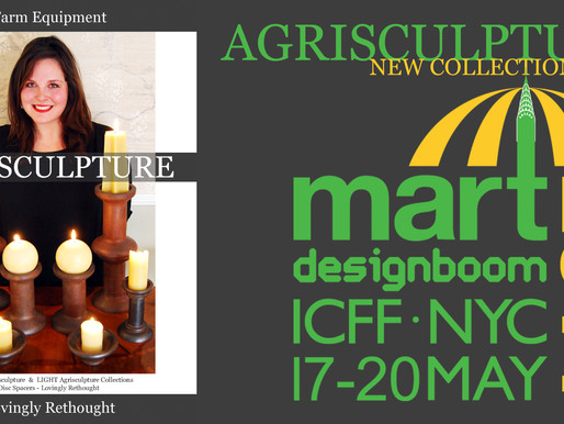 AGRISCULPTURE AT ICFF 2014
