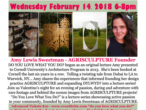 DO YOU LOVE WHAT YOU DO? THE AGRISCULPTURE COMMUNITY STORYTELLING SERIES