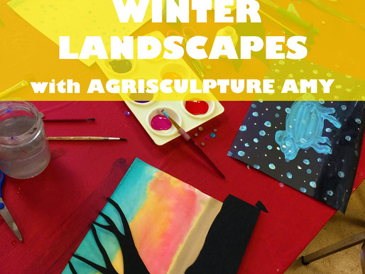 """WINTER LANDSCAPES WITH AGRISCULPTURE AMY"" WORKSHOP @ NEWBURGH JCC"
