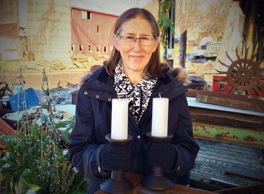 WARWICK WOMAN WINS AGRISCULPTURE CANDLESTICK PAIR FOR 2019